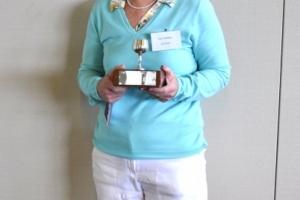 Winner Sue Thomas of Ruyton