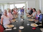 WISGCC Organising Team having lunch