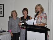Prue Moodie winner of Kitty McEwan Trophy